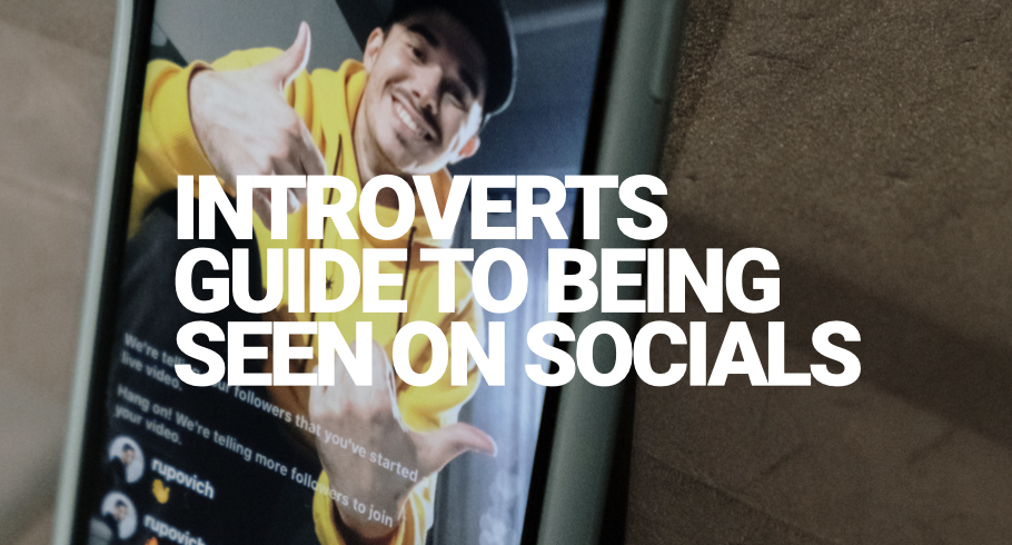 Introverts guide to being seen on social media