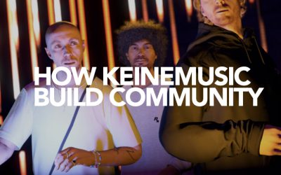 How does Keinemusik build community?